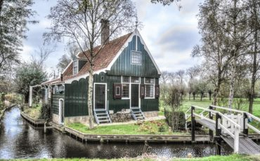 Zaandam wooden house