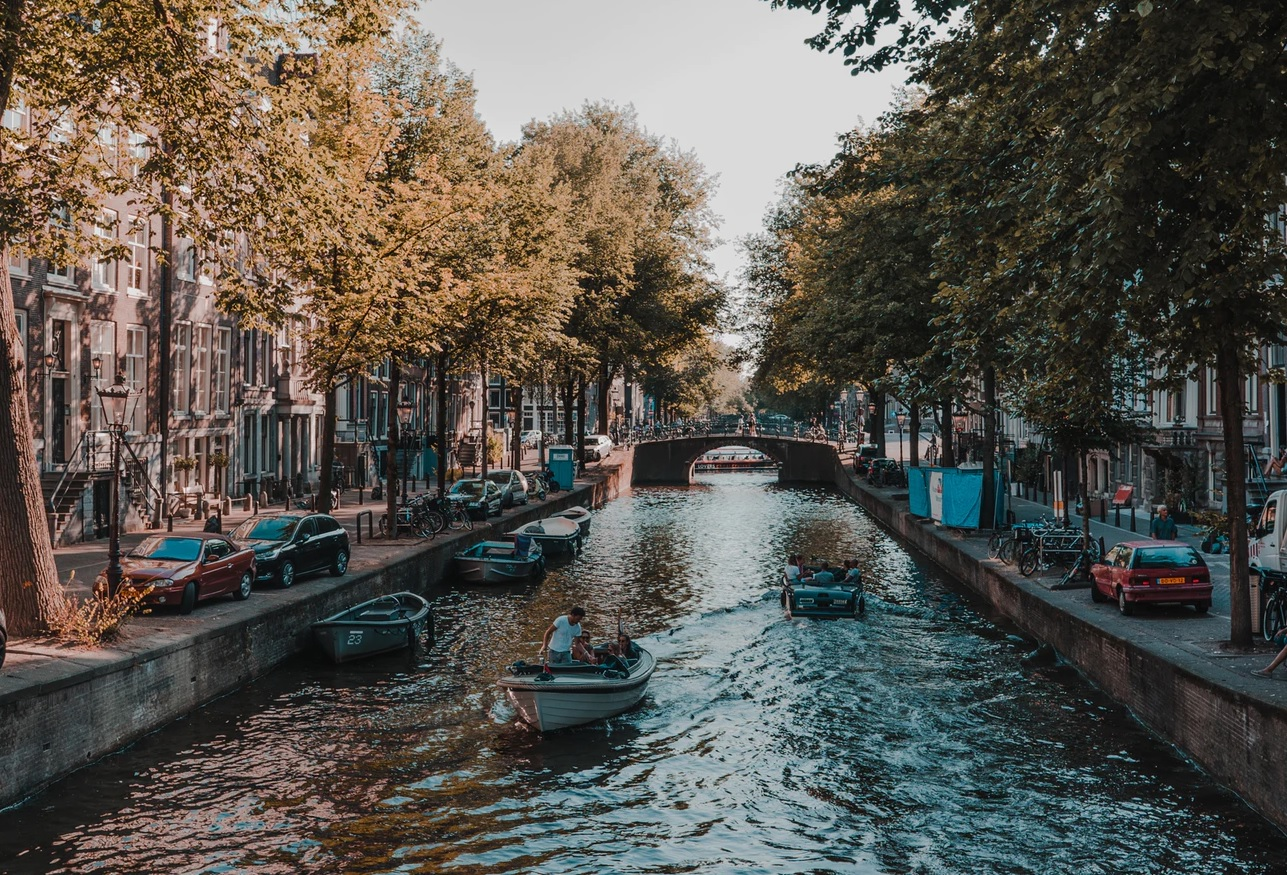 Who built the canals