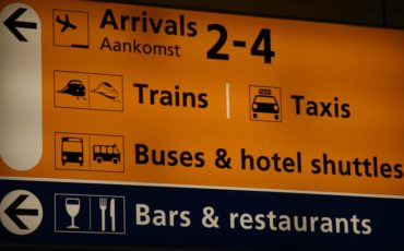 Distons to centre of Amsterdam from Schiphol