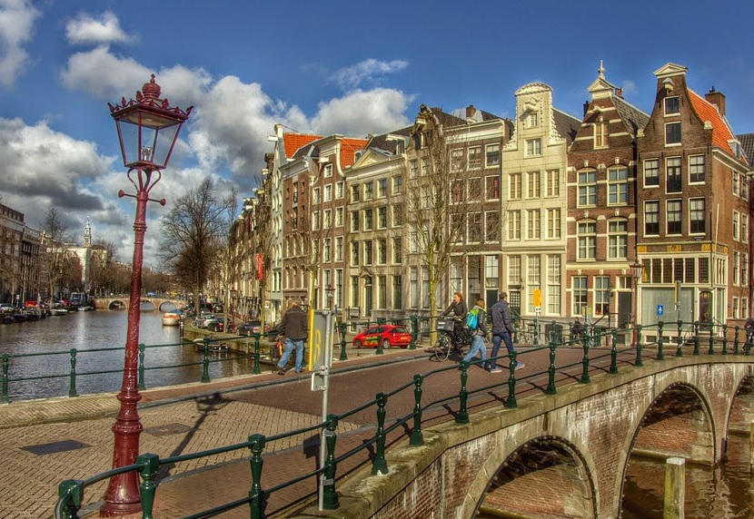 Who founded Amsterdam