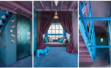 Unique hotel room Amsterdam
