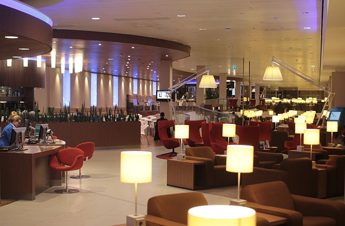 location KLM lounge