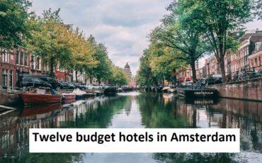 Amsterdan budget hotel