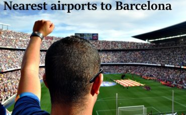 airport close to Barcelona