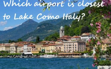 nearest airport to Lake Como