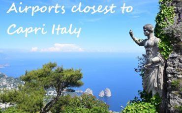 airports close to Capri