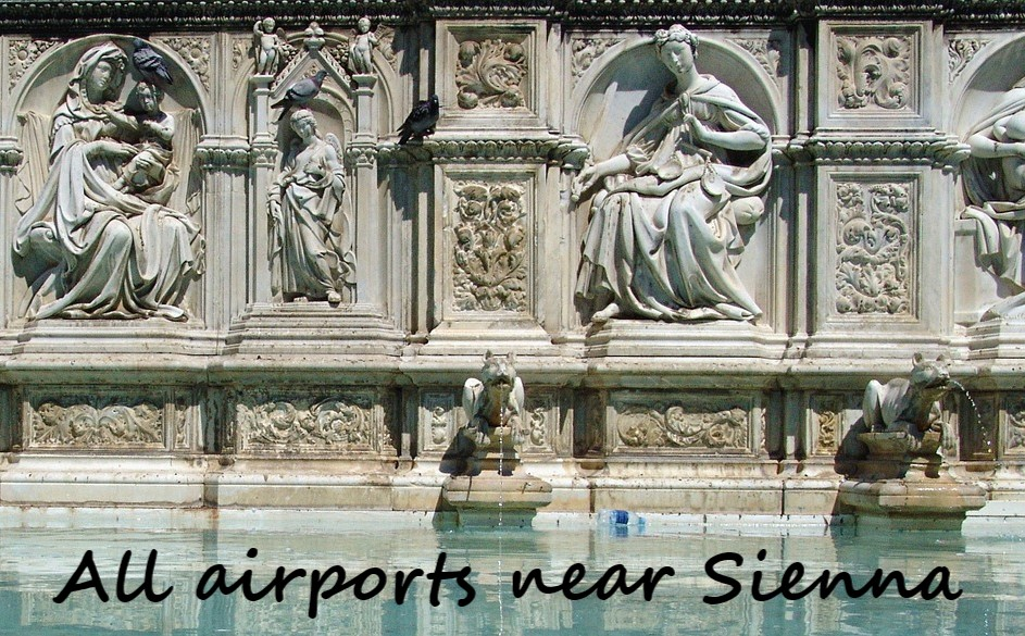 airport close to Sienna