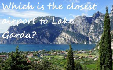 nearest airports to Lago di Garda