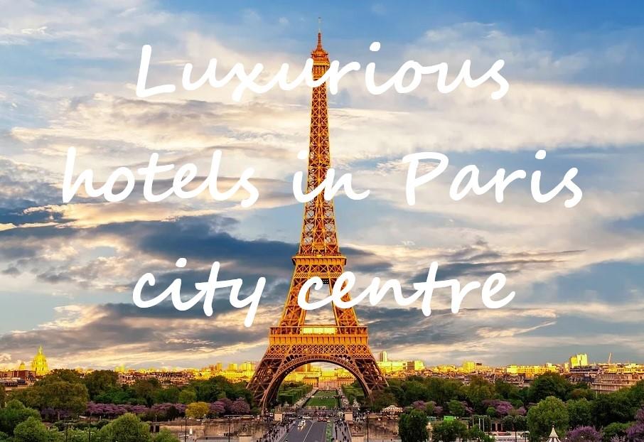 boutique hotel in Paris city center