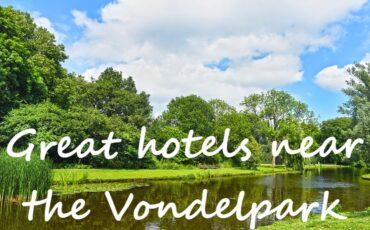 hotel near the Vondelpark in Amsterdam