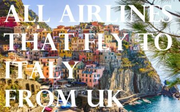 all flights to Italy from UK