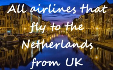 all flights to the Netherlands