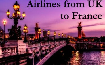 flights from UK to France