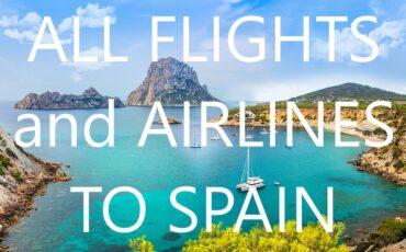 alle luchtvaartmaatschappijen naar Spanje