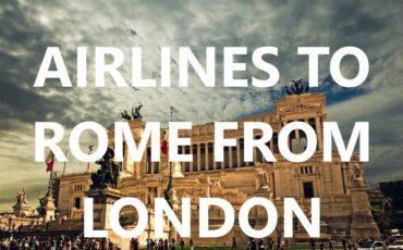 vlioegen naar Rome vanaf Londen