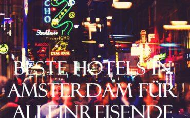 Hotel in Amsterdam für Alleinreisende