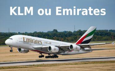 KLM ou Emirates