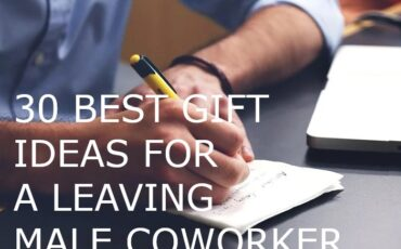 best gift ideas for a leaving male coworker