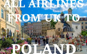 Poland to UK flights airlines tickets