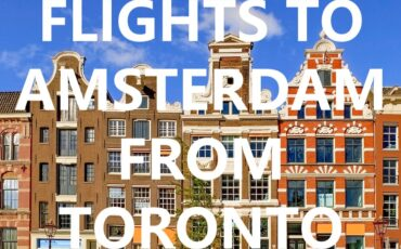 airlines direct flights to Amsterdam from Toronto