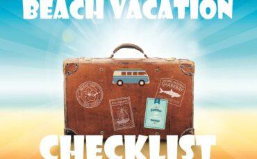 checklist beach vacation