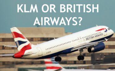 British Airways or KLM