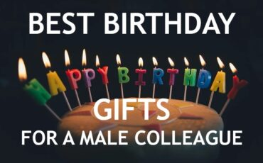 best birthday gifts for a male colleague