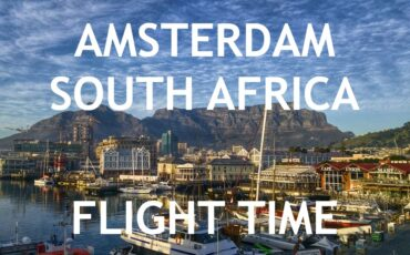 Amsterdam South Africa flight time how long duration