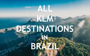 KLM destinations in Brazil