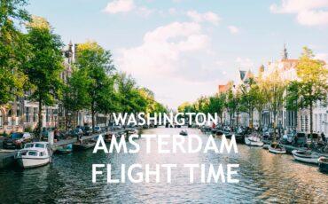 Washington Amsterdam flight time