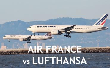 air france vs Lufthansa