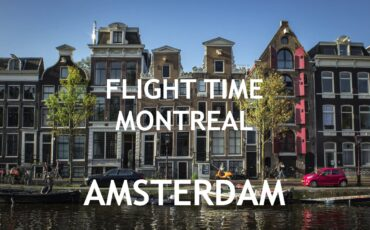 flight time Montreal Amsterdam