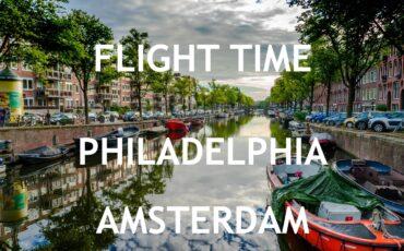 flight time Philadelphia Amsterdam