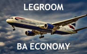 legroom British Airways Economy