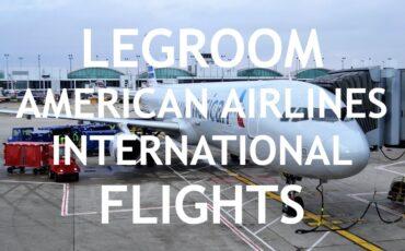 legrooom American Airlines Economy international flights