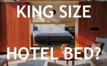 king size hotel bed