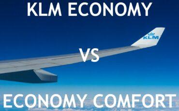 klm economy vs economy comfort