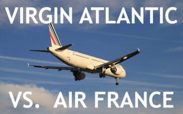 Air France - Virgin Atlantic