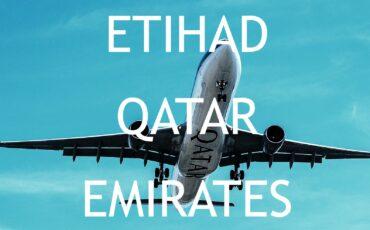 Emirates vs Etihad Airways vs Qatar Airways