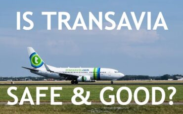 Transavia airlines route map