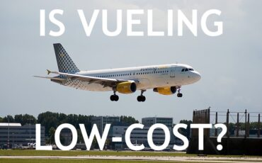 Vueling route map